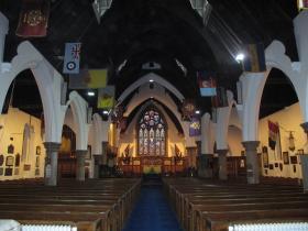 The Interior of the Garrison Church, Aldershot, 2011.
