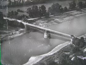 Postcard of River Orne bridge, undated.
