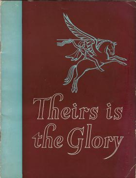 Booklet cover sold at 'Theirs is the Glory' premiere to raise money for the Airborne Forces Security Fund, 1946