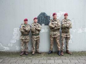 The Command element of 2 PARA in Arnhem, 17 September 2015.