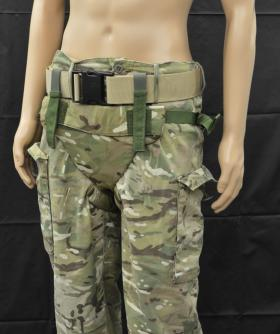 Tier 1 and 2 of the Pelvic Protection System from the Airborne Assault Museum Collection, Duxford.