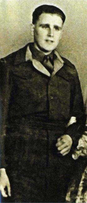 Sapper Tom Carpenter, c 1945.