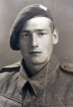 Private Lorne, 156 Parachute Battalion, November 1942.