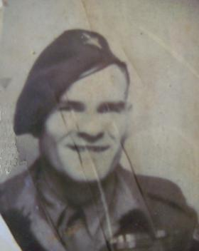 Pte Tommy Kelly when in 15 Para circa 1950.