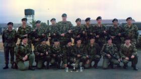 Members of 44 Parachute Ordnance Field Park RAOC, c1978.
