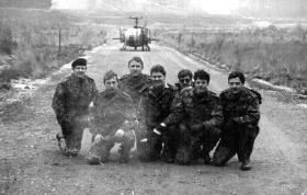 Members of 44 Parachute Ordnance Field Park, RAOC, c1978.