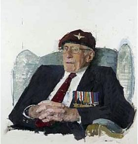 Robert Antony 'Tony' Leake, Corporal with the 8th Battalion The Parachute Regiment by Eileen Hogan