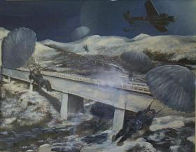 Painting of Tragino Aqueduct
