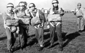 Members of parachute jump training course, Oct/Nov 1966.