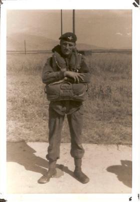 Trevor Mercy in Greece, 1962