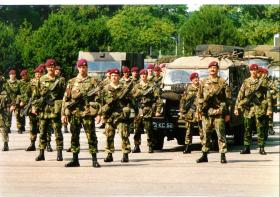 Members of 1 PARA, c1990.
