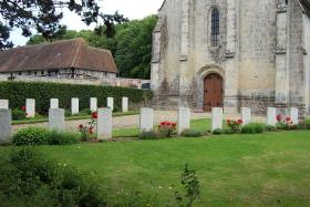 Putot-au Auge Graveyard, France.