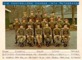 Vigilant Controllers' Course Netheravon 1974