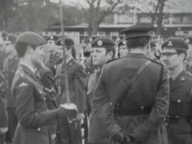 9  Para Squadron RE on parade in Aldershot, circa 1974