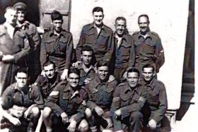 Group photograph of prisoners held at Stalag VIIA, c1944.