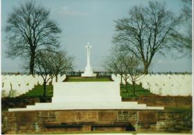 View of Hanover War Cemetery, Germany