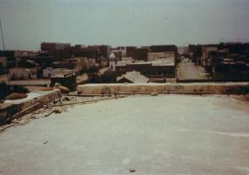 View from the roof of Fort Walsh, Aden, 1967
