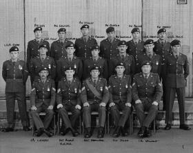 X Vigilant Platoon, Aldershot  1975.
