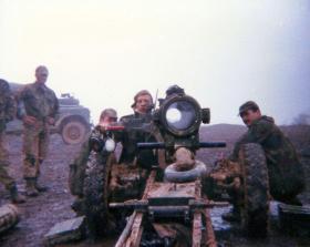 Members of  2 PARA Anti-tanks, Baldy Beacons, Belize, 1988.
