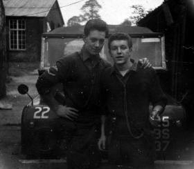 L/Cpl Vosper and pal, c1959.