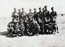 Members of D Company, 1 PARA, 1951.