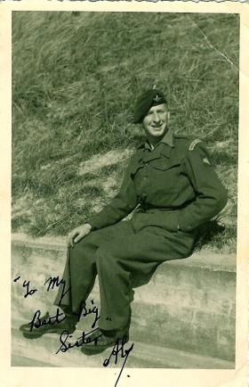 L/Cpl Alex Gray in Germany May 1948
