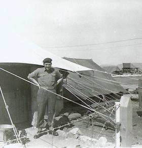 Lance Corporal Bridges of B Coy 3 PARA Cyprus 1956