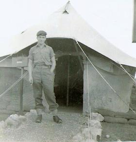 Pte Brian Newbon, Company Clerk, B Coy 3 PARA Cyprus 1956