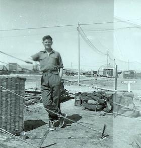 Pte Thomas Barnett of B Coy 3 PARA Cyprus 1956