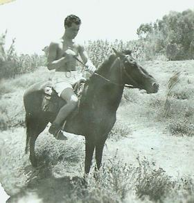 Pte William McIlroy B Coy 3 PARA Golden Sands Camp, Famagusta, Cyprus 1956