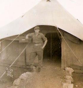 Pte McIlroy B Coy 3 PARA Cyprus 1956