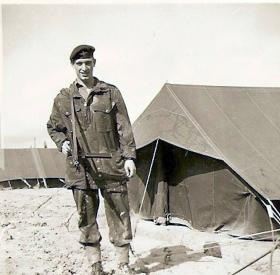 Pte Joe Woods, Coy Stores, B Coy 3 PARA Cyprus 1956
