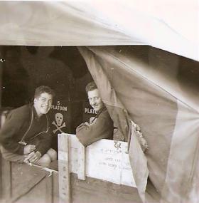 Members of B Coy 3 PARA Cyprus 1956