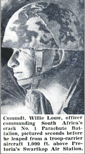 Cmdt. Willie Louw Sept 1964
