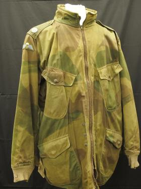 Windak Air Ministry Smock, worn by Charles Strafford, c.1944, from the Airborne Assault Museum Collection, Duxford.