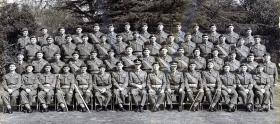 Warrant Officers, 16th Independent Parachute Brigade Group, 1955.