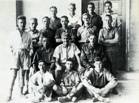 X Troop as Prisoners of War 1942.