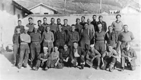 Members of X Troop Sulmona POW Camp, Italy