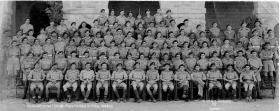 Group photograph of 15th (British) Parachute Battalion, India, 1945