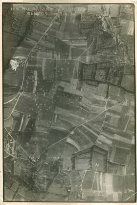 Gliders on landing zone near Ranville.