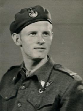 L/Cpl Zdzislaw Galasiak, 10 September 1945.