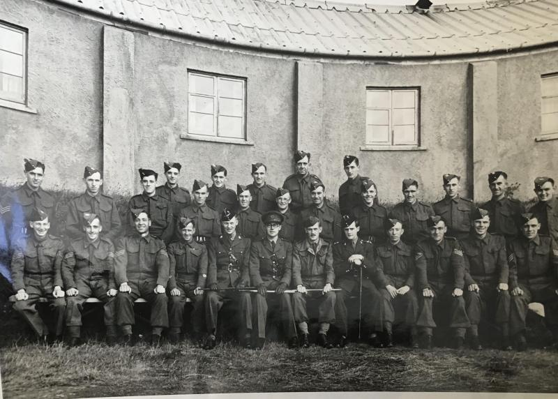 Members of The 12Bn The Devonshire Regiment