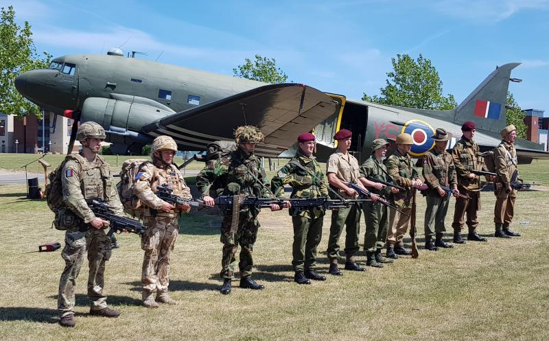 80th Anniversary of The Airborne Forces ceremony 22 June 2020