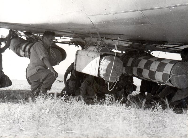 CLE being mounted to aircraft