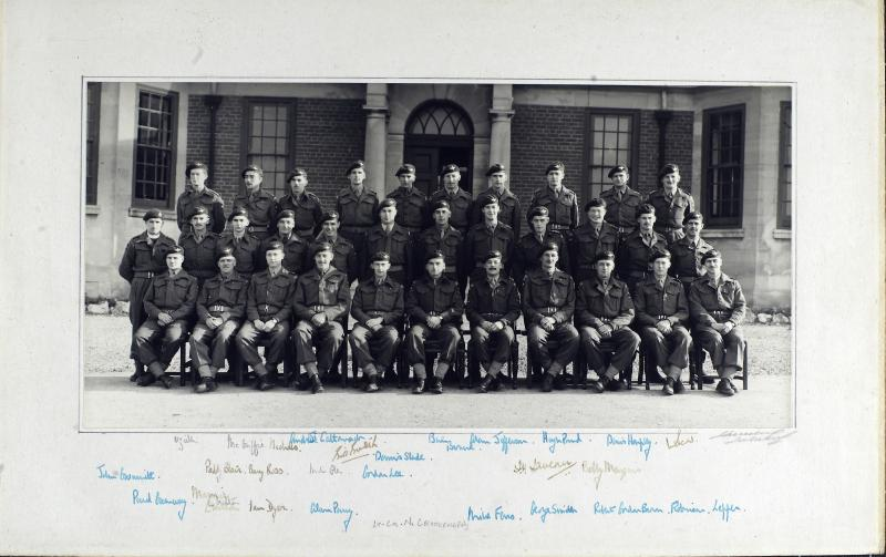Group Photograph of the Officers of 9th Parachute Battalion 1945