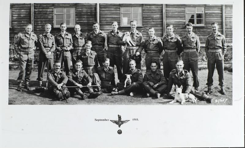 Group Photograph of the Officers of 13th Parachute Battalion, September 1944