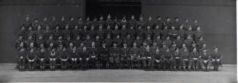 Group Photograph of Parachute Training Course 283