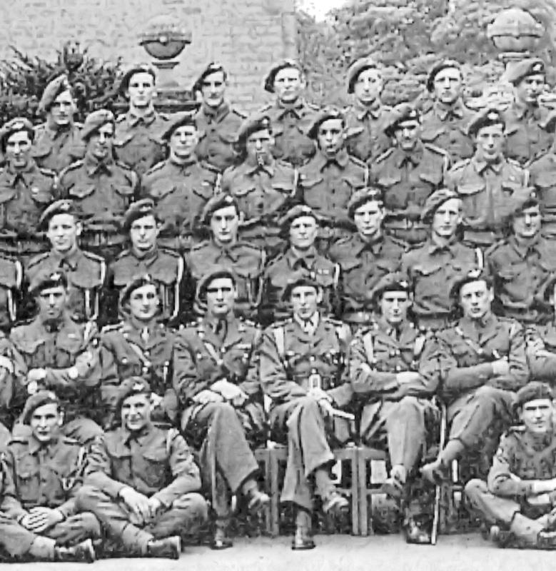Extract from A Coy 2 Para photo in 1944
