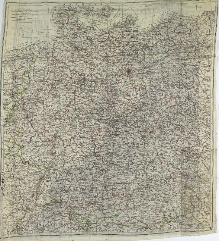 Map Silk of North West Europe (2)