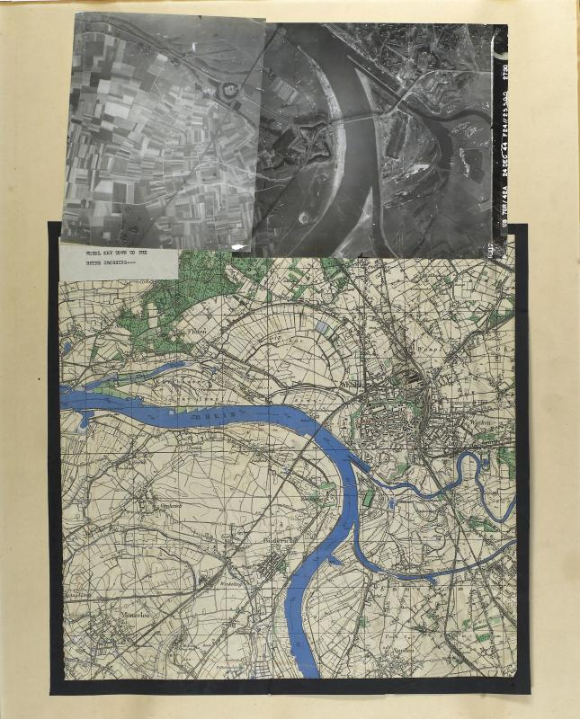 Map and Photographs for Operation Varsity